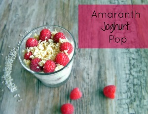 Amaranth Joghurt Pop