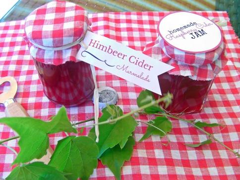 Himbeer Cider Marmelade