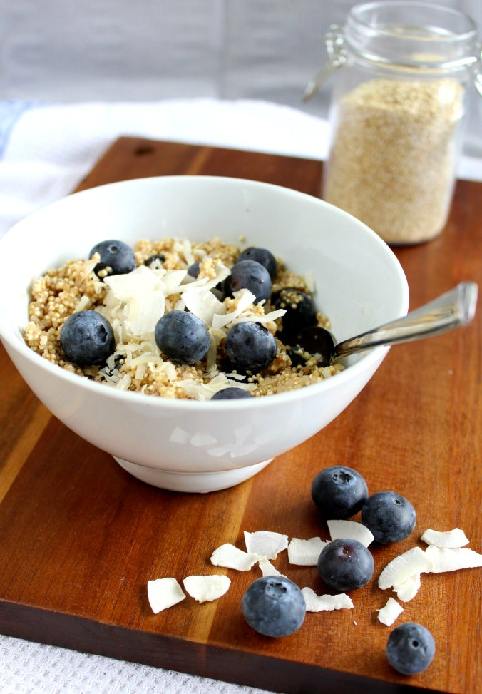Quinoa Frühstück (2)